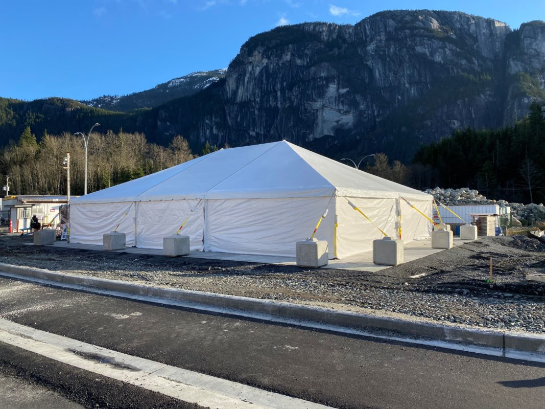 Utility Tent Construction