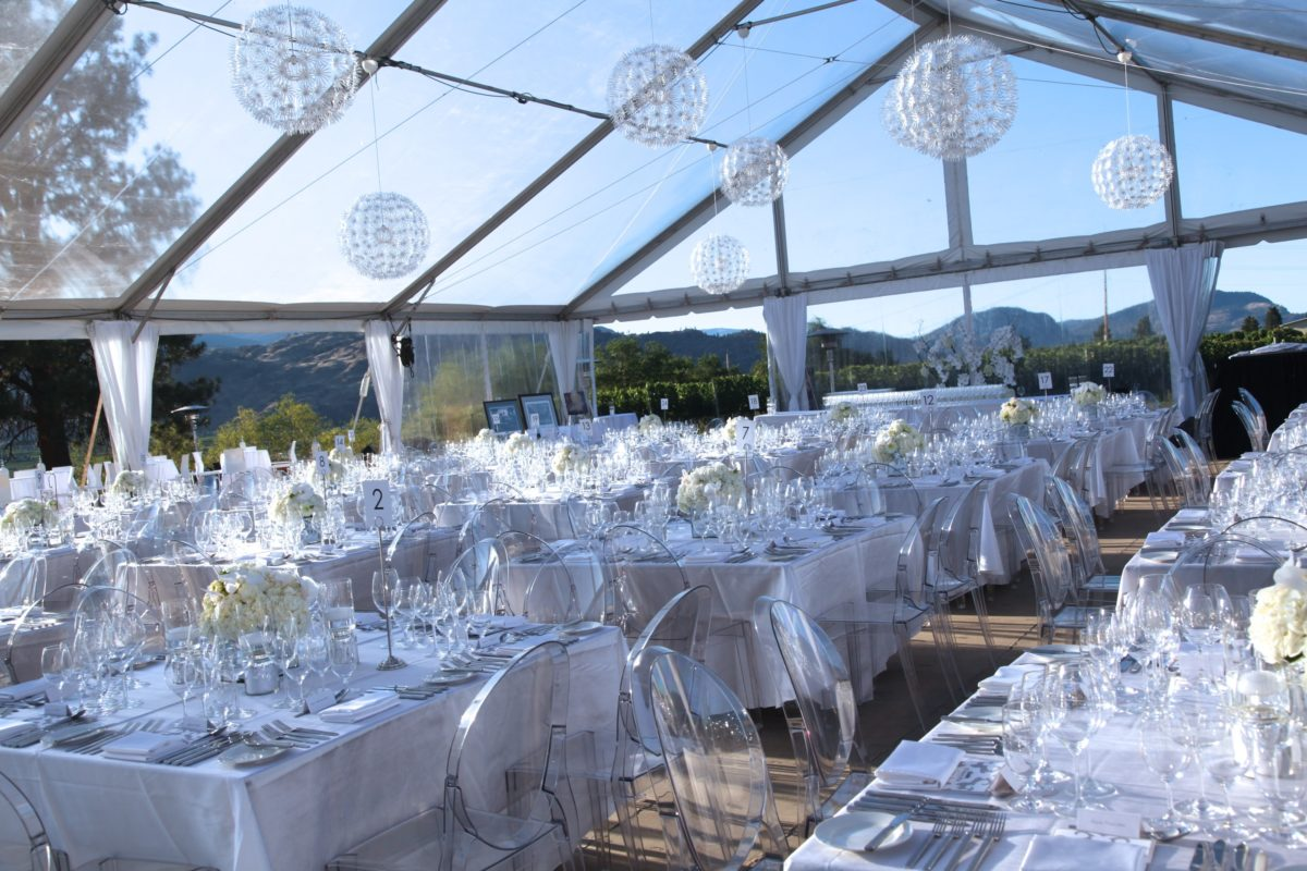 Clear Top Event Tent-wedding tent rental