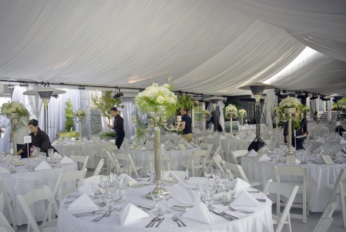 Elevation Tents Wedding - galleryTent