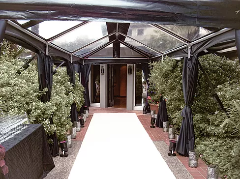 Clear Span Frame Tent