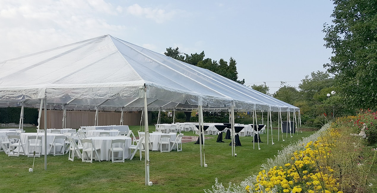 Open air event tent