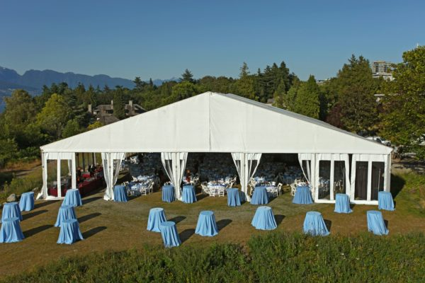 Private Gala Tent Structure